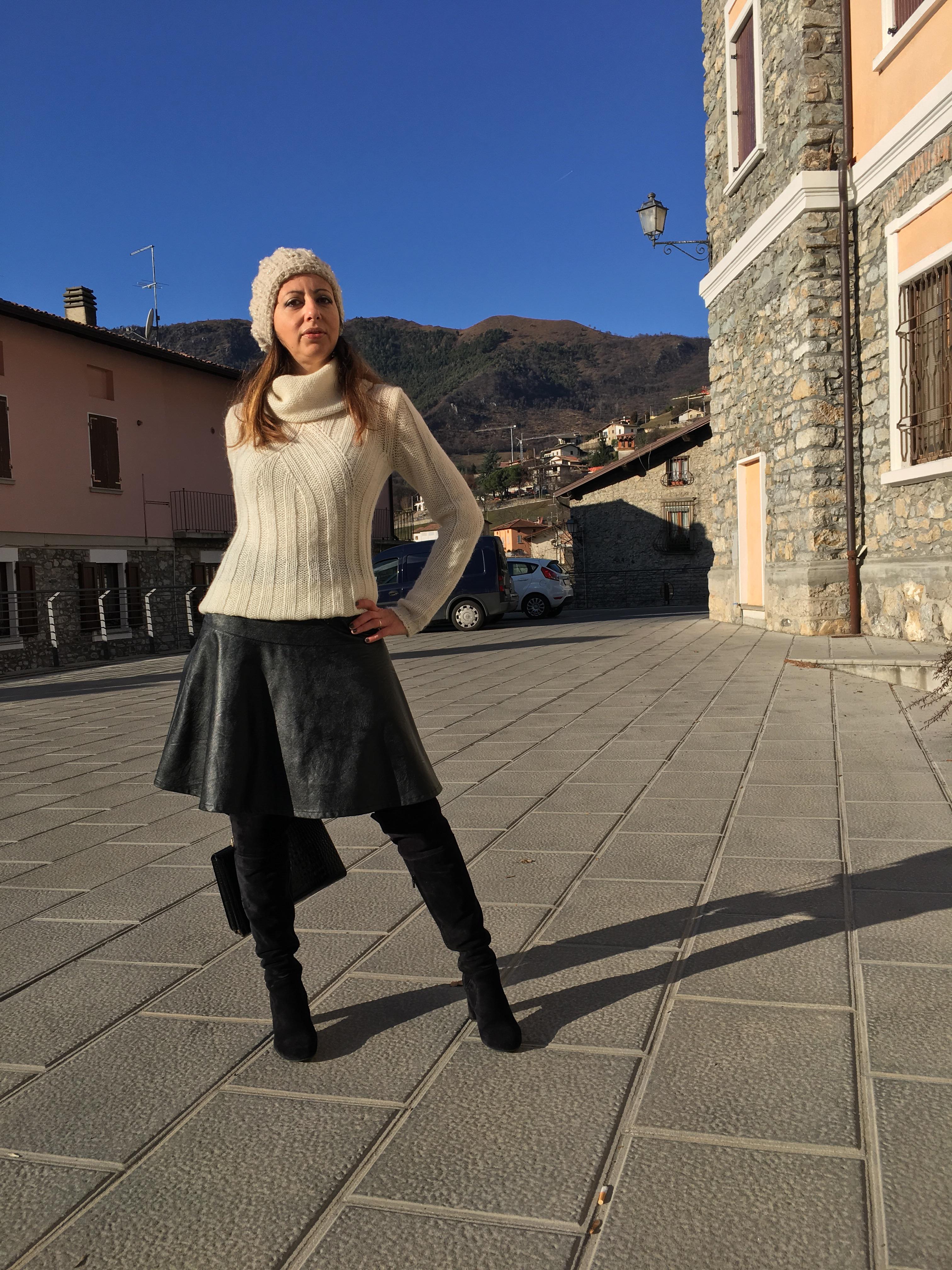 Un outfit per un giorno freddo: come indossare in modo ...