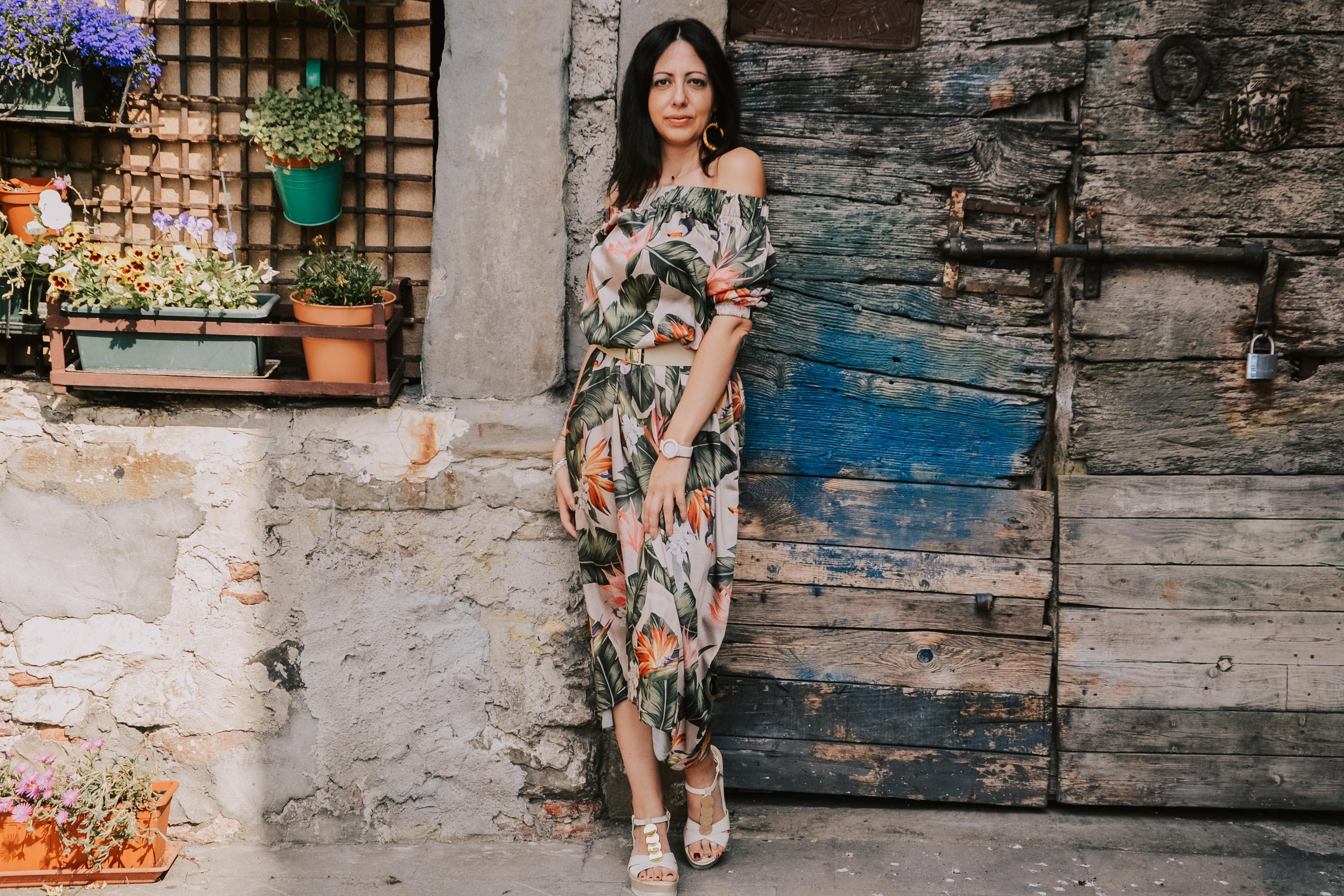 Stampa tropicale: come sceglierla e indossarla