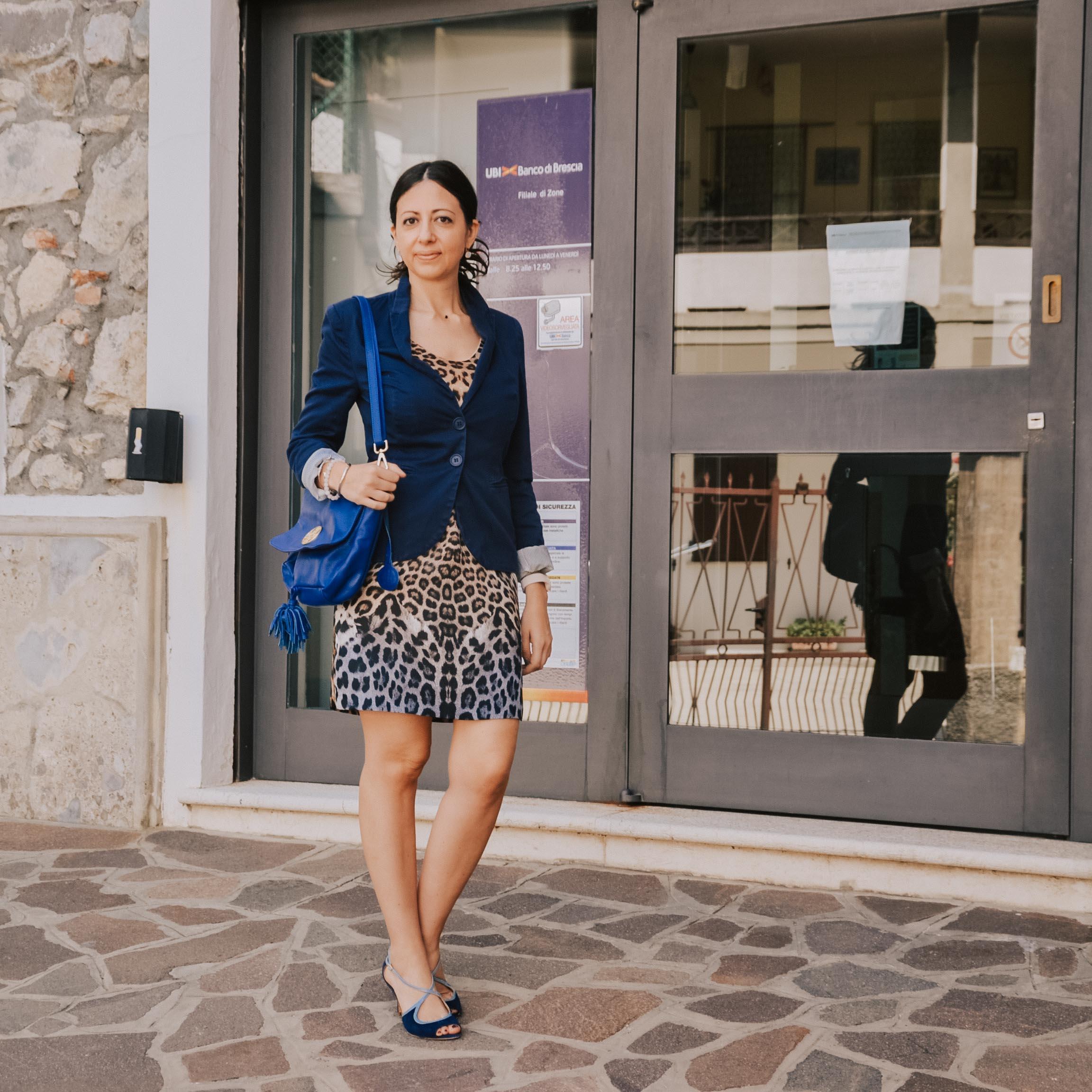 Come vestirsi in ufficio in estate: il mio tubino leopardato