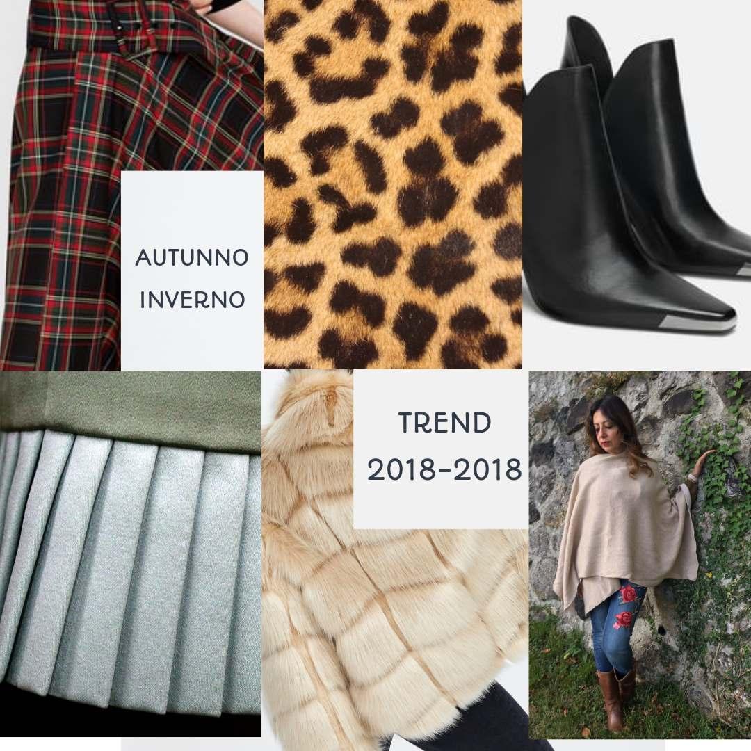 Trend autunno/inverno 2018-2019