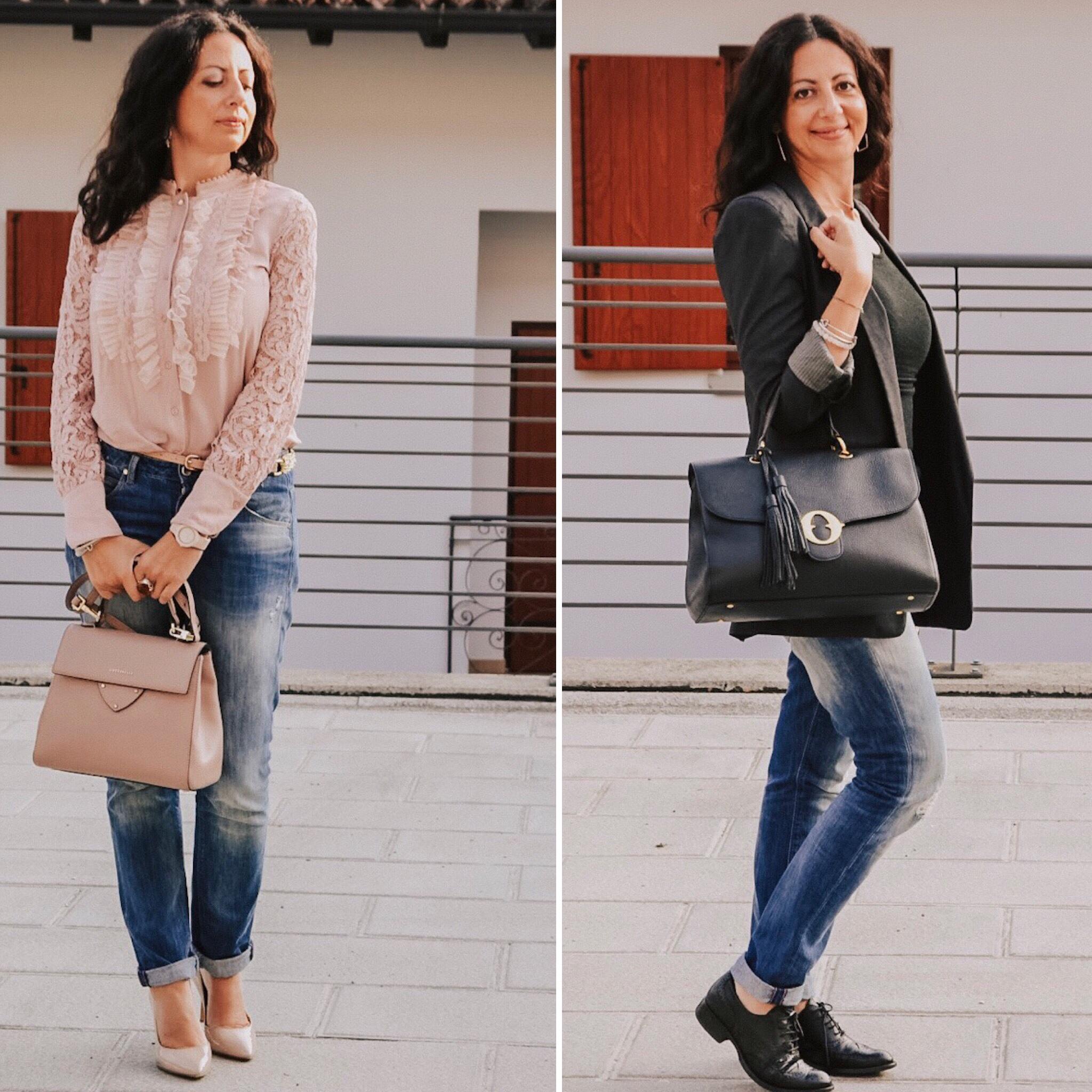 Come indossare i jeans boyfriend - The Fashion Cherry Diary