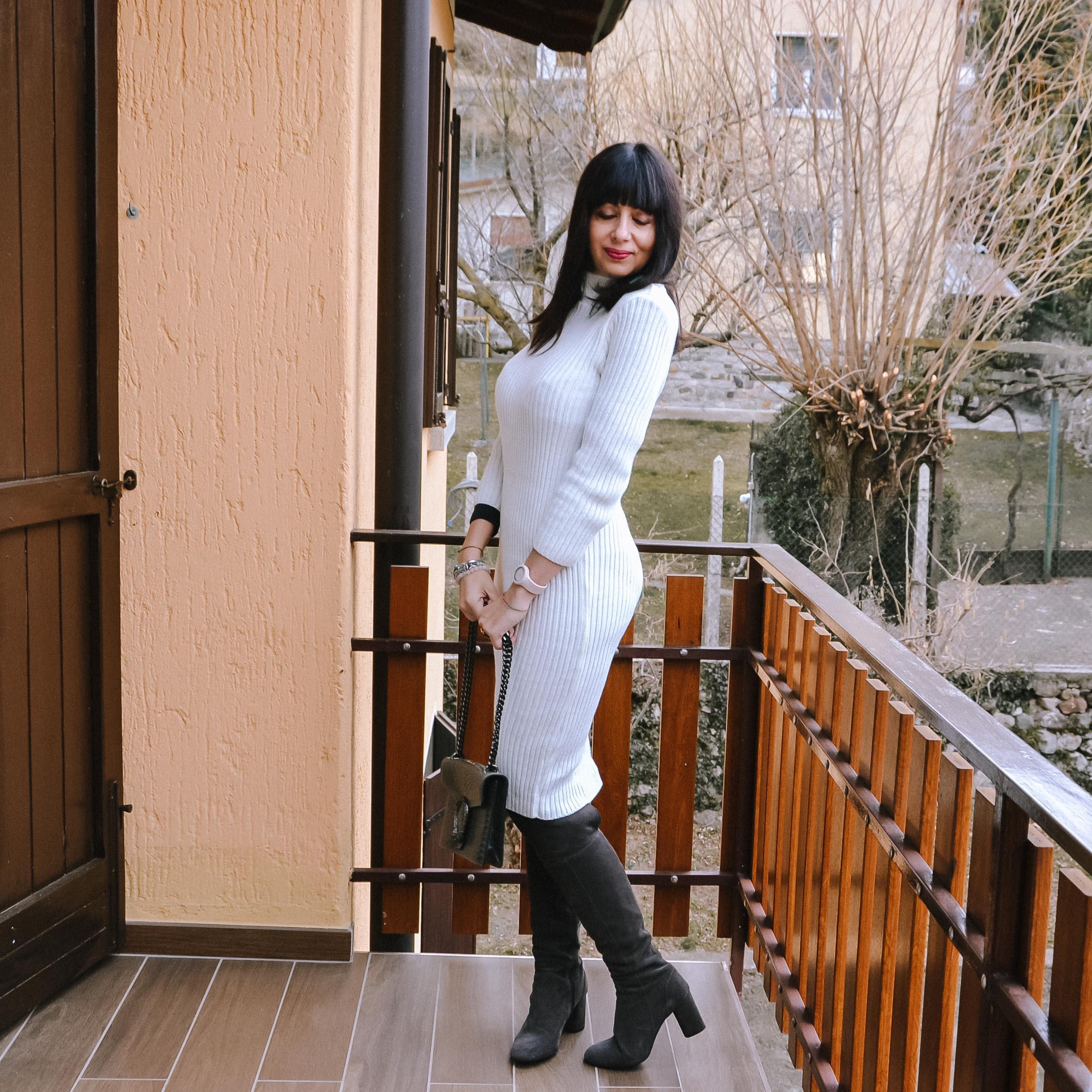 Abitino in maglia Femme Luxe